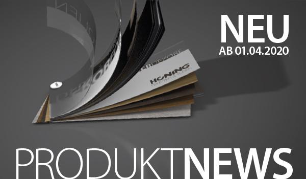 Neuigkeiten: Neue RealWood-Dekorfolien