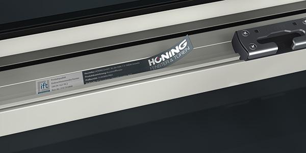 Kennzeichnung geprüfter Fensterelemente
