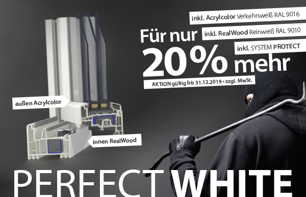 Neuigkeiten: AKTION PERFECT WHITE
